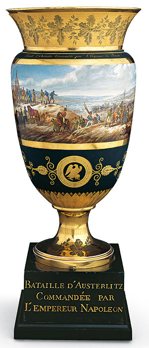 Picture: Vase depicting the Battle of Austerlitz